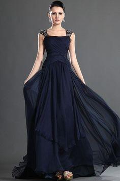Vestidos azul marino para fiesta