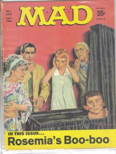 For sale is a Mad Magazine in good condition.