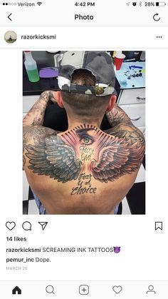 Best Neck Tattoos, Stomach Tattoos, Top Tattoos, Future Tattoos, Body Art Tattoos, Cloud Tattoo Sleeve, Sleeve Tattoos, Chest Tattoo, Back Tattoo