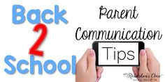 Back to School: Parent Communication