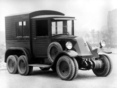 1924 Renault 10CV Sahara              6x6 in the world     by: www.01a-teamservice.com