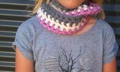 crochet scarflette #tutorial