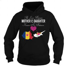 The Love Between Mother and Daughter - Romania Cyprus - #cheap sweatshirts #crew neck sweatshirt. GET YOURS => https://www.sunfrog.com/States/The-Love-Between-Mother-and-Daughter--Romania-Cyprus-Black-Hoodie.html?id=60505