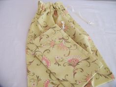 Drawstring Travel Shoe Bag Lingerie Bag Laundry Bag  by ChaletChic, $22.00