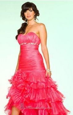 Mini Prom Dresses, Strapless Dress Formal, Formal Dresses, Ball Gowns, Pink, Design, Fashion, Dresses For Formal, Ballroom Gowns