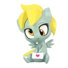 MLP: Friendship is Magic Derpy Hooves Chibi Vinyl Figure - Mighty Fine - My Little Pony - Mini-Figures at Entertainment Earth