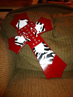 LARGE Texas Tech Wood Cross by SignsBYDebbieHess on Etsy, $35.00