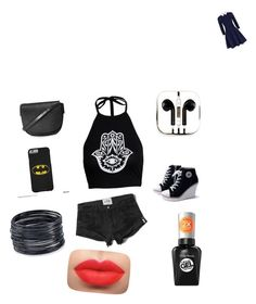 """""""Untitled #37"""" by jennnifermurarikova ❤ liked on Polyvore featuring moda, Alice + Olivia, Boohoo, Abercrombie & Fitch, Topshop, PhunkeeTree, ABS by Allen Schwartz e Sally Hansen"""