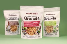 Matt Grantham Studio & Coats Design - Hubbards Granola PACKAGING DESIGN World Packaging Design Society│Home of Packaging Design│Branding│Brand Design│CPG Design│FMCG Design