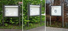 Bayern, Infosysteme, Schaukästen, Beschilderungen, Stadtmobiliar, information systems, street furniture
