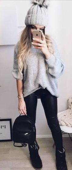 40 Genius Winter Outfit Ideas For Everyday - #winteroutfits #winterstyle #winterfashion #outfits #outfitoftheday #outfitideas
