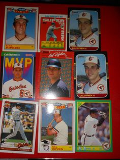 Cal Ripken Jr. Baltimore Orioles Baseball Cards