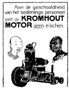 foute kromhout reclame