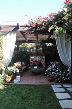 Pergola patio outdoor living via apt therapy oh my this is a dream!