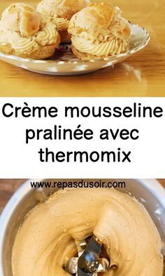 Thermomix Desserts, No Cook Desserts, Dessert Recipes, Lidl, Paris Brest, Personal Chef, Food Porn, Food And Drink, Eat