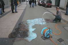 Street and illusion art