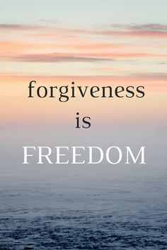 """Forgiveness is freedom."" - Chris Lee on the School of Greatness"