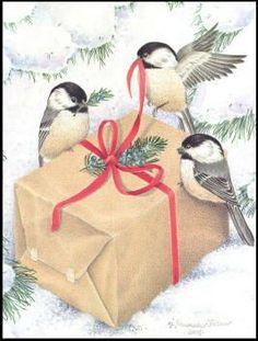 Chicadee Christmas Cards