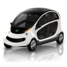 Peapod electric car by Chrysler