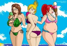BBWS are the most beautiful women in the world.Natural beauty at its best-BBW Collection bbw cartoon
