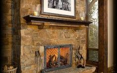 Old World Fireplace Image Detail For  Sawtooth B Vent Gas Fireplace In Old World Style
