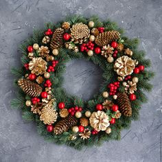 Rustic Winter Wreath door, Christmas Wreath for Front Door, Christmas wreath, Cotton Christmas Wreath - Holiday Decor * Diameter inch cm ) * Diameter inch cm) * Perfect accent to any tree around the holidays Front Door Christmas Decorations, Handmade Christmas Decorations, Holiday Wreaths, Christmas Wreaths To Make, Christmas Crafts, Christmas Ornaments, Holiday Decor, Christmas Wreath Image, Classy Christmas