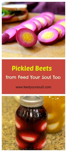 Beet Pickled Eggs from Feed Your Soul Too