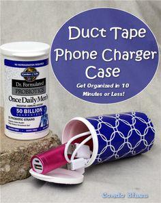 Condo Blues: Quick Craft: Make a Portable Phone Charger Case