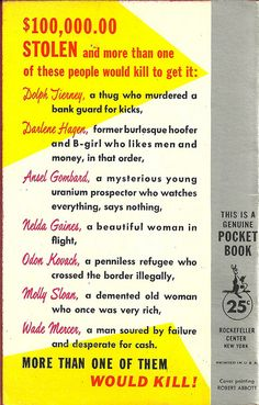 Pocket Books 1171 (1st ptg, 1957)    Title: When Strangers Meet  Author: Robert Bloomfield  Cover artist: Robert Abbott