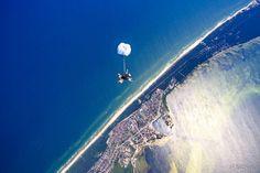 Voucher na skok spadochronowy z widokiem na morze | Jastarnia-Hel - Dla chłopaka - Dla niego - Dla kogo