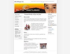 Sitio web de Alto Refúgio A.C. (2005)