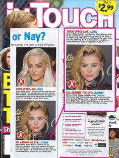 Avon's Big & False Mascara was featured in In Touch Weekly as the perfect mascara to balance out a bold, bright eyeliner!