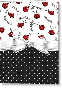 Lady Bug Gifts on Zazzle Handmade Birthday Cards, Greeting Cards Handmade, Handmade Thank You Cards, Making Greeting Cards, Bee Cards, Animal Cards, Paper Cards, Kids Cards, Scrapbook Cards