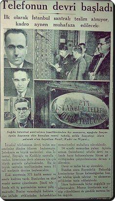 """İstanbul LOOK on Twitter: """"""""Telefonun devri başladı"""" (3 Eylül 1935)  #eskihaberler https://t.co/Vc2y6UvERY"""""""