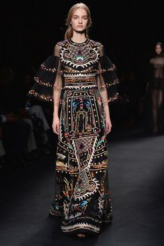 The entire collection was breathtaking, and this intricately embroidered gown is everything.
