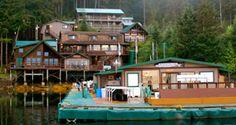 Sportsman Cove Lodge in Alaska where I caught a 70 lb halibut.