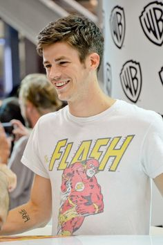 You may be cool, but u ain't The Flash wearing The Flash cool..