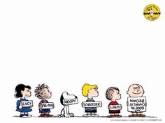 Some of the Peanuts Gang named.      (Pinned also to Graphics - *Other....)