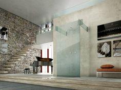 Box doccia in vetro ICONA Collezione Icona by MEGIUS