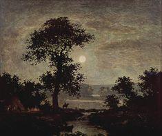 Mondlicht, 1885. Ralph Albert Blakelock