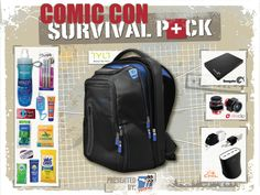 Awesome survive comic con prize pack given away by Nerd Fu all the best nerd stuff in one plAce Pictures Online, Sling Backpack, Survival, Comics, Nerd Stuff, Bags, Awesome, Comic Con, Handbags