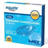 Click for More Info About Equate 1-Day 90 Pack Contact Lenses