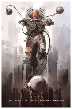 Stunning Illustrations by Derek Stenning