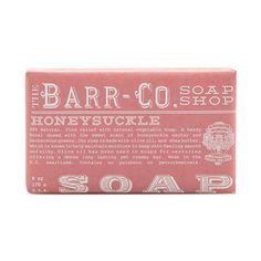 Barr Co. Bar Soap - Honeysuckle