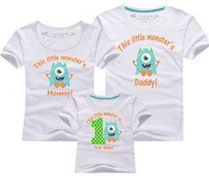 1st birthday monster Birthday shirt