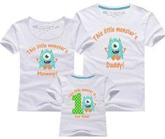 1st birthday monster Birthday shirt