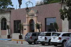 Entrance to La Fabrica La Aurora