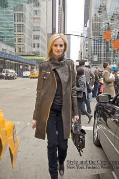 Lauren Santo Domingo + jacket