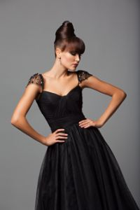 I want to wear this dress in navy!! PLEASE?