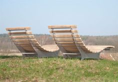 Stainless steel lounger with wood by abk-outdoor.com